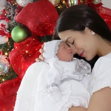 Nahiony Reyes se convierte en madre por segunda vez