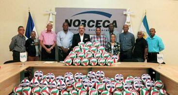 NORCECA y la Molten donaron 450 balones a la Federación Dominicana de Voleibol