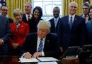 Donald Trump firma el fin del 'apagón' de su Gobierno