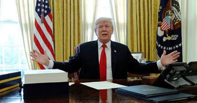 """""""El mío es más grande"""": Trump compara los botones nucleares de EE.UU. y Corea del Norte"""
