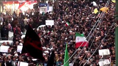 Nueve personas mueren durante otra noche de protestas en Irán