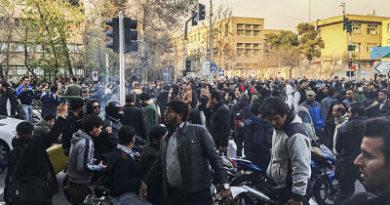 Al menos doce personas han muerto durante los disturbios en Irán