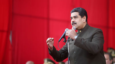 """Nicolás Maduro: """"En Venezuela no decide Donald Trump"""""""