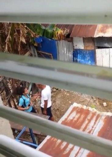 Envían a la cárcel de La Victoria hombre que golpeó a una estudiante en Villa Mella