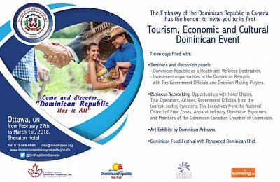 Hotel Sheraton Ottawa en Canadá, será sede de 'Primera Semana Turística, Económica y Cultural Dominicana'