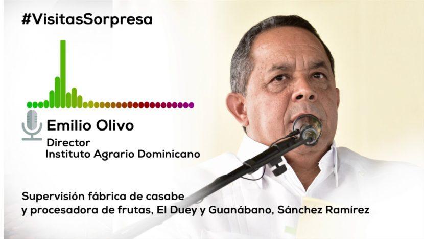 En Sánchez Ramírez, Danilo supervisa avances construcción planta de casabe y procesadora frutas