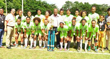 Castillo se corona campeón Liga Femenina de Fútbol