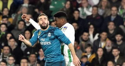 El dominicano Junior Firpo coqueteó con un gol frente al Real Madrid
