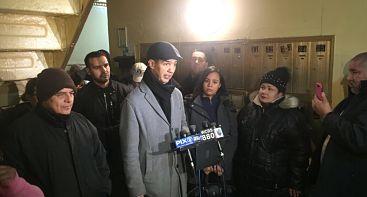 Dominicanos en NY denuncian viven sin agua caliente ni calefacción