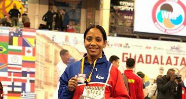 Karina Díaz conquista una plata en torneo mundialista en España