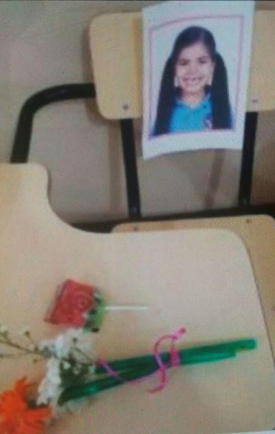 Triste Ambientación Butaca, Niña Asesinada Por Padre