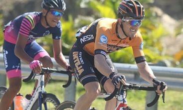 Diego Milán conquista la primera etapa de la Vuelta Independencia