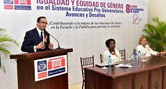 Navarro afirma que el respeto a derechos de la mujer debe ser inculcado desde las escuelas