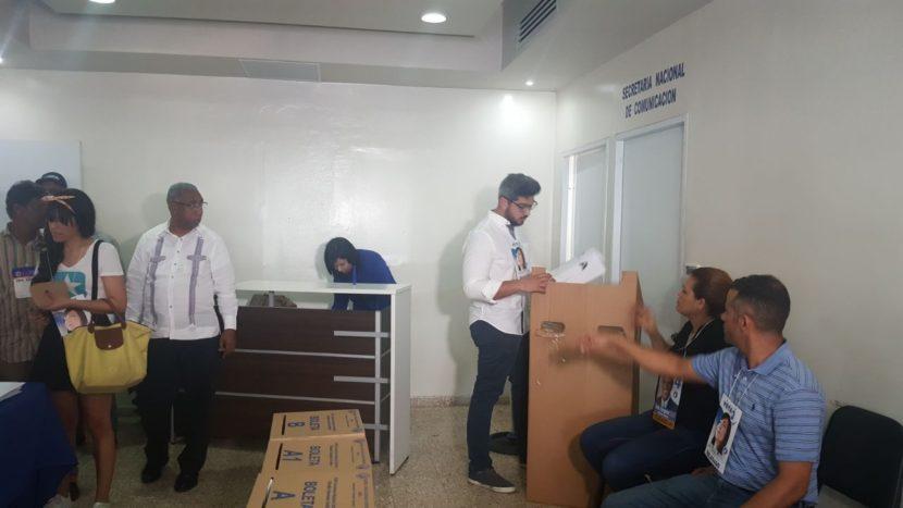 Leonardo Faña: Debió haber un poquito más de eficiencia en la repartición de urnas