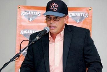 René Francisco es gerente general de Gigantes del Cibao