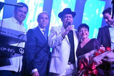Jet Set celebra 45 años en fiesta con Toño y Villalona