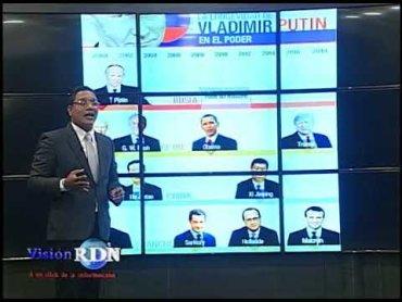 Analista político habla perfil figuras políticas internacionales.