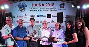 Juvenil Diego Pagés conquista Clásico de Pesca Haina 2018