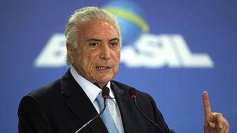 Corte Suprema de Brasil autoriza levantamiento del secreto bancario de Michel Temer