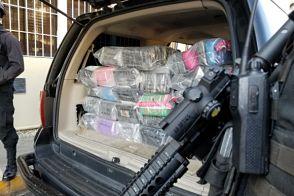 DNCD ocupa 144 paquetes de presunta cocaína en Puerto Caucedo