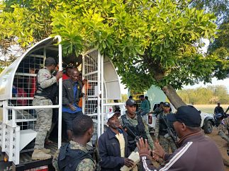 Apresan 55 haitianos indocumentados en Montecristi