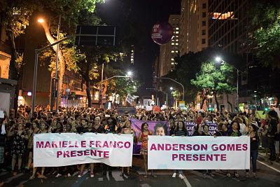 Indignación en Brasil: El dolor toma las calles tras el asesinato de Marielle Franco
