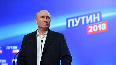 Con el 99,84 % escrutado: Vladímir Putin logra su cuarto mandato como presidente de Rusia
