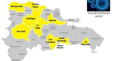 Brote influenza y amenaza de difteria ponen en vilo a República Dominicana