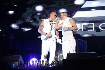 Wisin llega para show con Yandel en Chavón