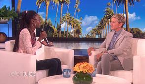 La dominicana que aprendió inglés con el show de Ellen DeGeneres y recibió US$ 10,000 de la conductora