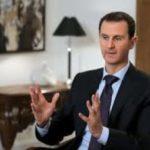 Bashar al Assad presidente de Siria enfatiza ataque fue apoyo al terrorismo