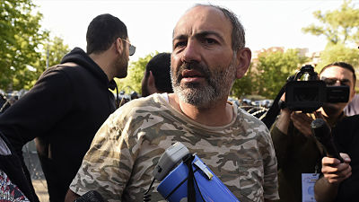 Armenia: Una intensa semana de protestas culmina con la detención del líder opositor