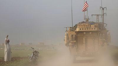 """Trump: """"Tenemos muchas opciones militares en relación con la situación en Siria"""""""