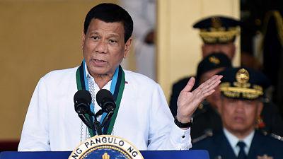 """Duterte sobre Kim Jong-un: """"Es mi ídolo, espero que me considere un amigo"""""""