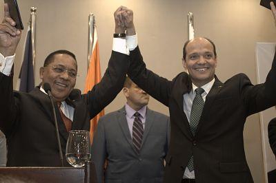 Reyes explica base de la alianza entre el PDI y Ramfis Domínguez Trujillo