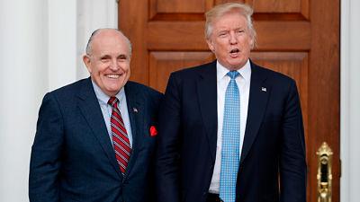 El ex alcalde de Nueva York Rudy Giuliani es el nuevo abogado de Trump