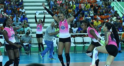 Guerreras y Cristo Rey comienzan este martes la batalla de la semifinal del voleibol femenino