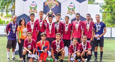 La Salle campeón Copa Rica de Fútbol Colegial