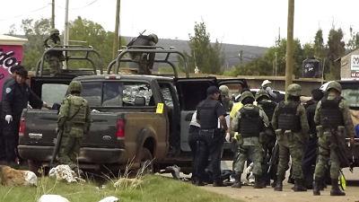 Seis cuerpos de mujeres desaparecidas fueron encontrados en un barranco en el noreste de México