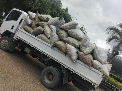 """Decomisan carbón en """"Operación Chispa"""""""