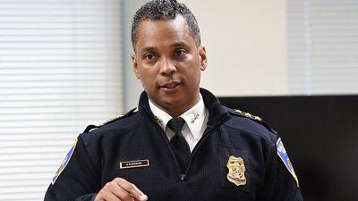 El ex policía superior de Baltimore hace una aparición en la corte inicial
