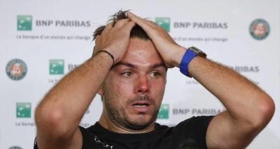Wawrinka, eliminado en primera ronda; Djokovic y Kvitova triunan