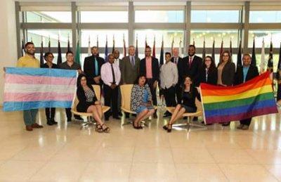 Embajada de los Estados Unidos se reúne con los principales líderes GLBT de la República Dominicana.