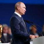 """""""Deporte fuera de la política"""": Putin promete que el Mundial 2018 será inolvidable"""