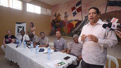Víctimas inseguridad 18 barrios DN exponen testimonios a PN