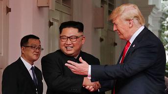 "Trump tras su cara a cara con Kim: ""Resolveremos un gran problema, un gran dilema"""