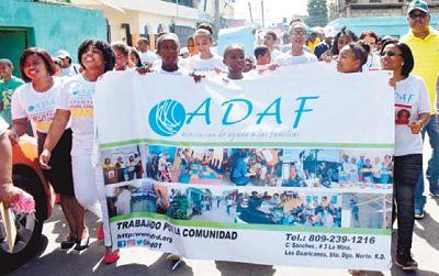 En Guaricanos marchan contra la explotación sexual de menores