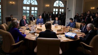 El G-7 se divide en 'el G-6 más Trump' por desacuerdos económicos y políticos