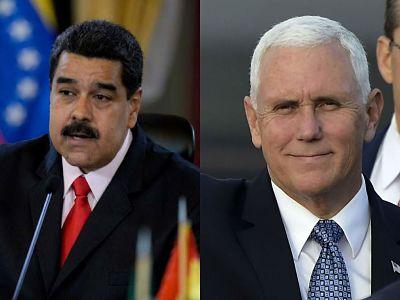 """Nicolás Maduro arremete contra y llamóa Mike Pence """"culebra venenosa"""""""