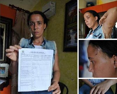 Mujer denuncia fue agredida por encargo por deuda con propietario de casa en la que vive